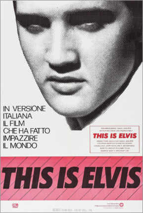 Canvas print  This is Elvis - Entertainment Collection