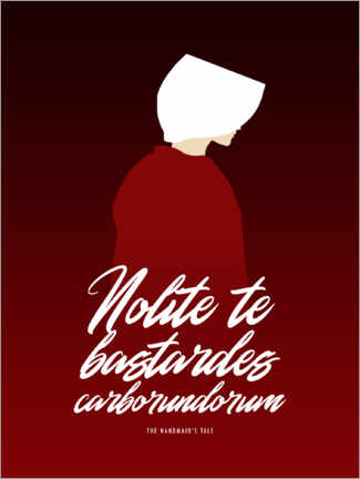 Wall sticker The Handmaid's Tale – Quote