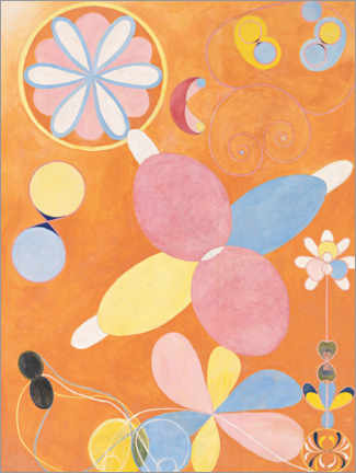 Wall sticker  The Ten Largest, No. 4, Youth - Hilma af Klint