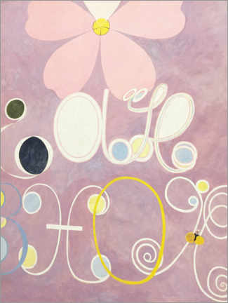 Canvas print  The Ten Largest, No. 5, Adulthood - Hilma af Klint