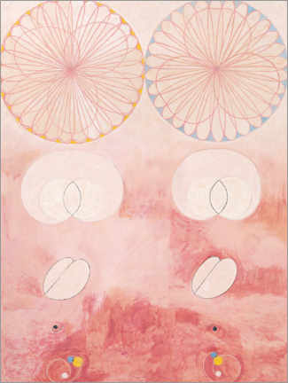Canvas print  The Ten Largest, No. 9 - Hilma af Klint