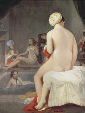 Premium poster The little bather