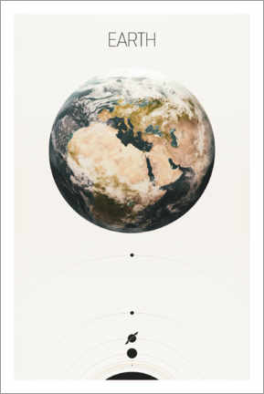 Canvas print  Earth - Tobias Roetsch