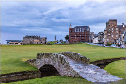 Canvas print  Swilcan Bridge at the Old Course at St Andrews - Mike Centioli