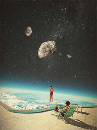 Gallery print  Summer with a Chance of Asteroids - Frank Moth