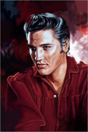 Canvas print  Elvis Presley - Dmitry Belov
