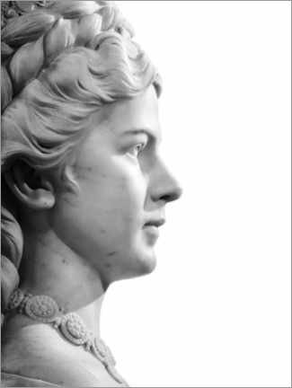 Premium poster  Marble bust - Art Couture