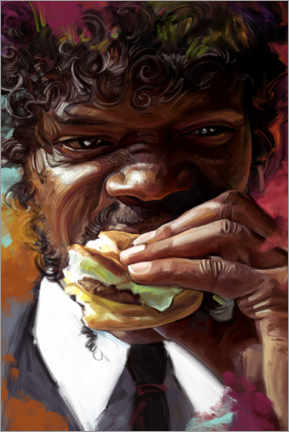 Canvas print  Jules Winnfield - Pulp Fiction - Dmitry Belov
