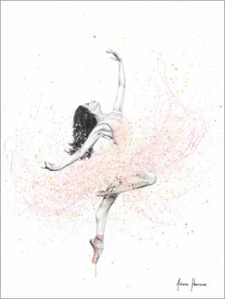 Canvas print  Spring Rose Dance - Ashvin Harrison
