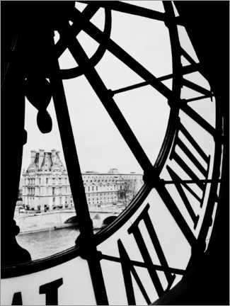 Acrylic print  By the time - Magda Izzard