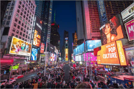 Canvas print  Times Square in New York City - Jan Christopher Becke