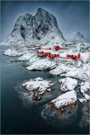 Canvas print  Picturesque Hamnoy - André Wandrei