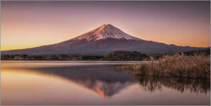 Premium poster  Mount Fuji am Tomorrow - André Wandrei