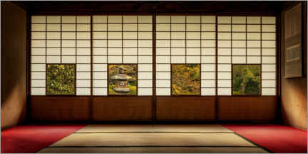 Aluminium print  Four Views of the Edo Period - André Wandrei