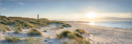 Canvas print  Dune landscape on Sylt - Jan Christopher Becke