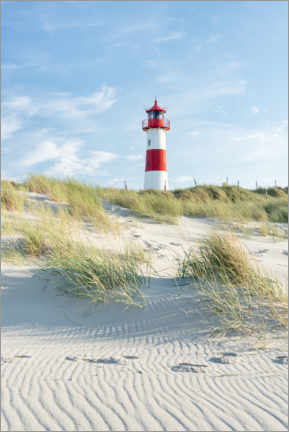 Aluminium print  List Ost lighthouse on Sylt - Jan Christopher Becke