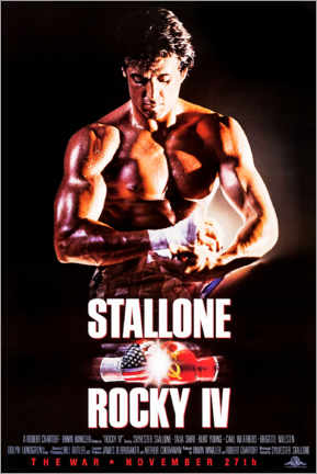Acrylic print  Rocky IV - Entertainment Collection