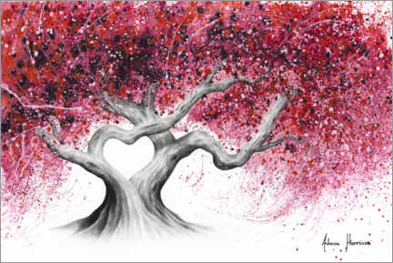 Premium poster  Tree of love - Ashvin Harrison