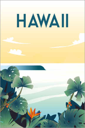 Canvas print  Hawaii - Omar Escalante