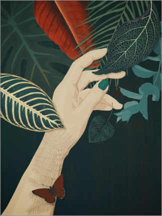 Premium poster  One with nature - Sybille Sterk
