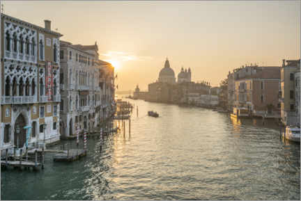 Premium poster Grand Canal at sunrise