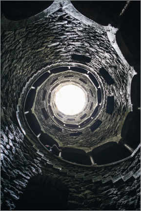 Acrylic print  Fountain of the Quinta da Regaleira, Portugal
