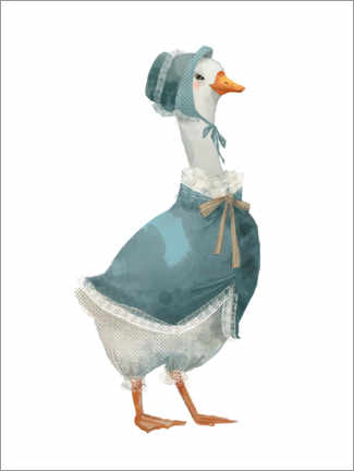 Premium poster  Mother goose - Kidz Collection