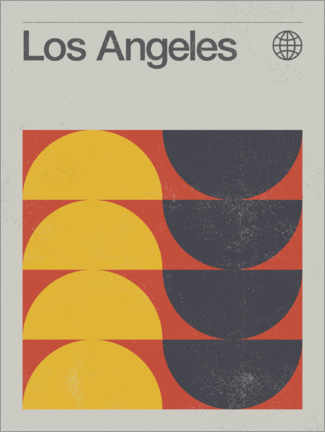 Canvas print  Los Angeles - Swissty