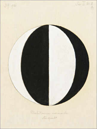 Canvas print  The Mahatma's current point of view - Hilma af Klint