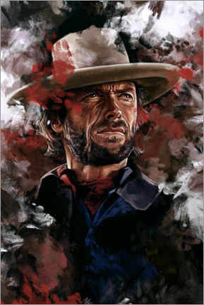 Premium poster  The Outlaw Josey Wales - Dmitry Belov