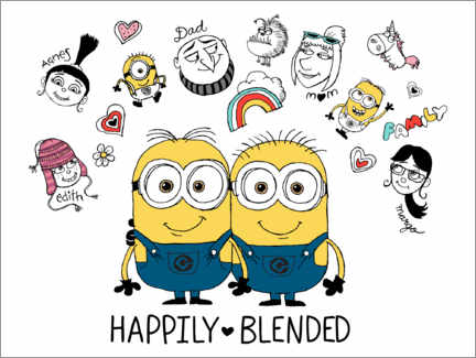 Premium poster  Despicable Me 3 - Happily Blended