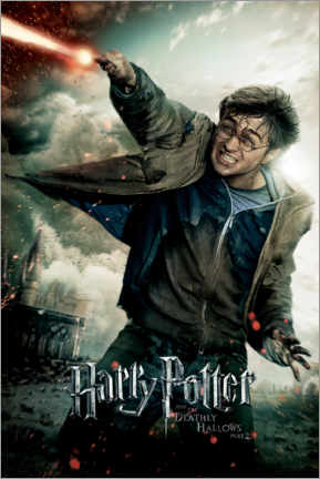 Wall sticker  The Deathly Hallows II - Harry Potter Duel