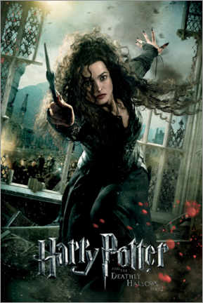 Premium poster  The Deathly Hallows II - Bellatrix Lestrange