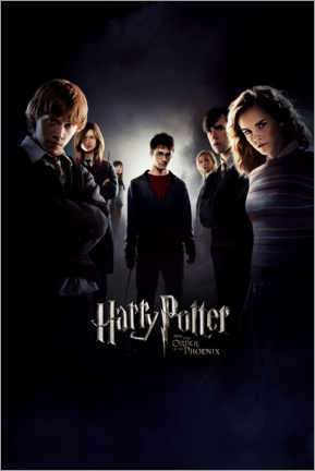 Foam board print  Harry Potter and the Order of the Phoenix