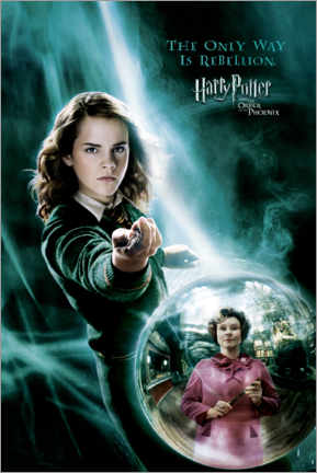 Wood print  The Order of the Phoenix - Hermione Granger
