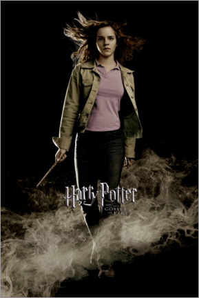 Canvas print  The Goblet of Fire - Hermione Granger
