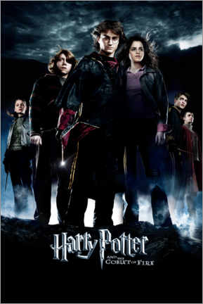Foam board print  Harry Potter and the Goblet of Fire