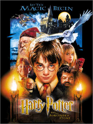 Foam board print  Harry Potter and the Sorcerer's Stone