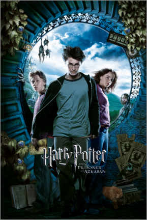 Gallery print  The Prisoner of Azkaban - Trio