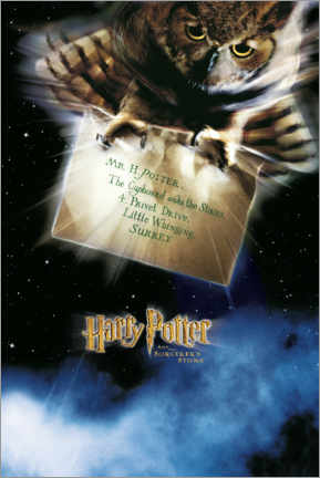 Canvas print  The Philosopher's Stone - The Letter