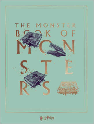 Premium poster  Harry Potter - The Book of Monsters