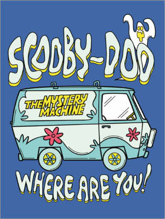 Acrylic print  Scooby Doo - Where are you!