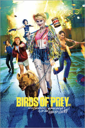 Canvas print  Harley Quinn - Birds of Prey