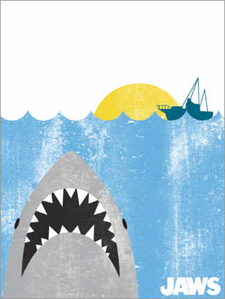 Foam board print  Jaws - Kids Art