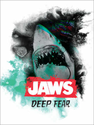 Wall sticker  Jaws - Deep Fear