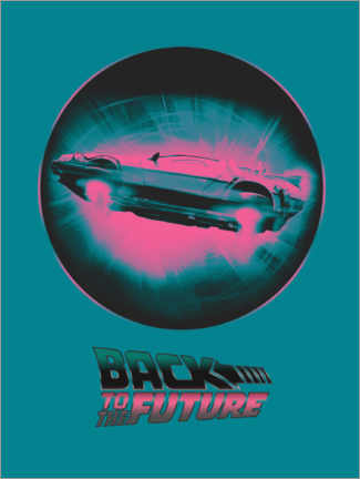 Premium poster  BTTF time travel
