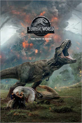Premium poster  Fallen Kingdom - volcanic eruption