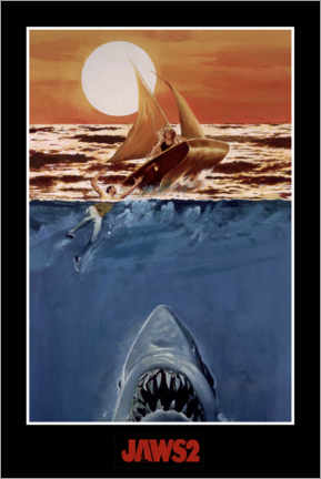 Foam board print  Jaws 2 - Attack