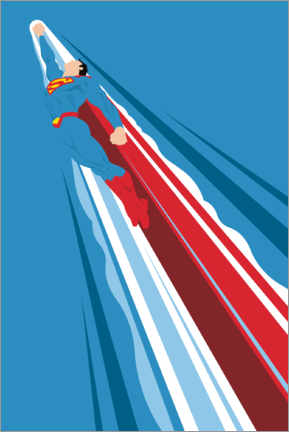 Wall sticker  Superman - Into the blue
