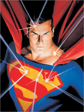 Foam board print  Superman - Man of Steel
